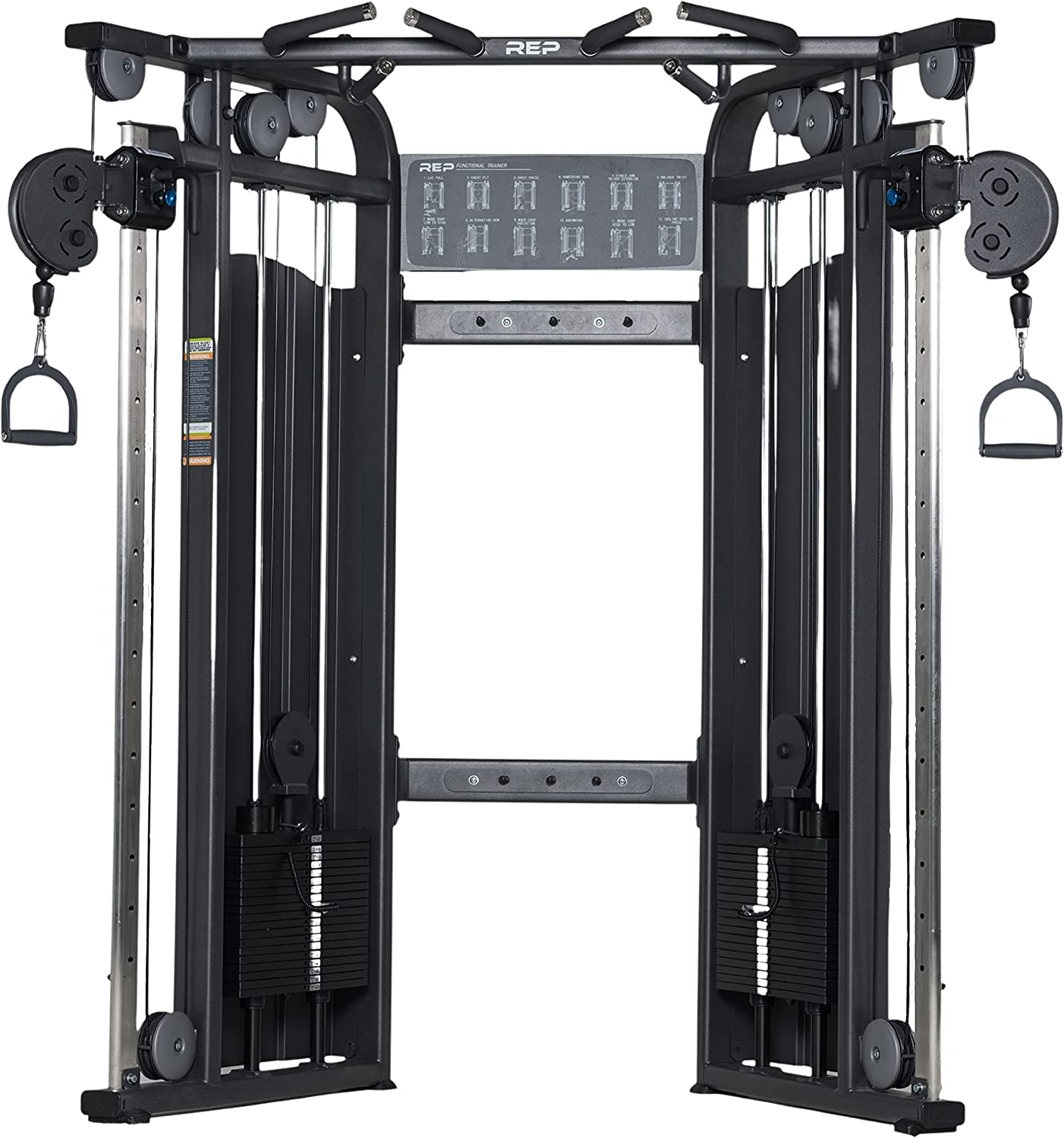 REP FITNESS FT-5000 Cheap SALE Start Multi-Grip Machine Cable Trainer Functional Award