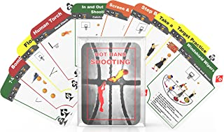 3D Athletes Hot Hand Shooting Heat Deck Basketball Shooting Drill Cards Fun Games for Youth Players