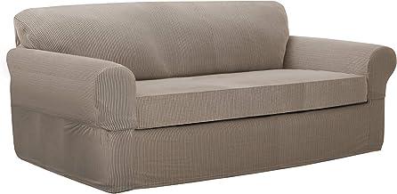 Maytex Connor Slipcover, Sofa, Sand