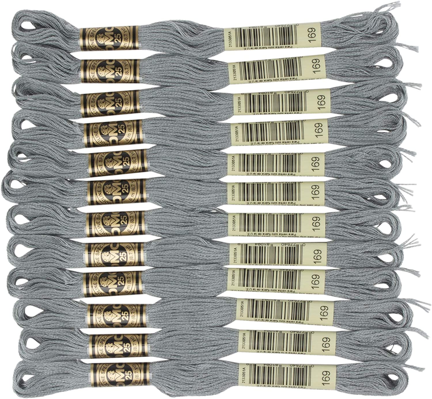 DMC 6-Strand Embroidery Cotton Pewter Light Floss Max 65% OFF Max 60% OFF