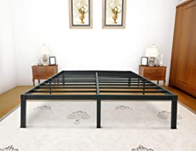 zizin Queen Size Bed Frame Platform Base 14 Inch/Heavy Duty Metal Beds Frames/Easy Assembly/Noise-Free/No Box Spring Needed (Queen)