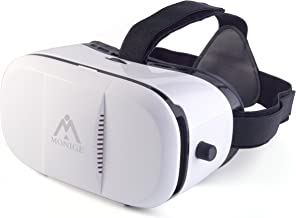 MONIGE Universal 3D VR Glasses Video Viewing Box with Adjustable Pupil and Object Distance Design