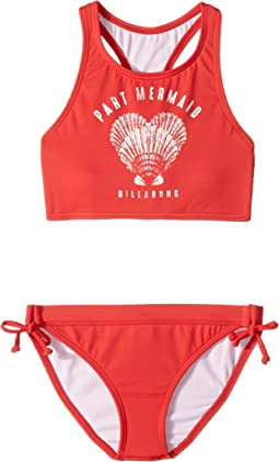 Billabong Kids - Sol Searcher High Neck Set (Little Kids/Big Kids)