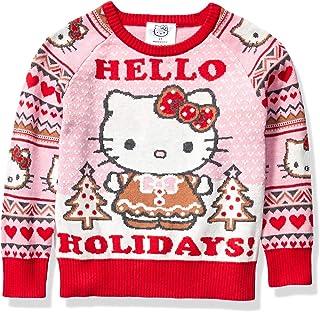 Hello Kitty Girls' Ugly Christmas Sweater