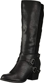 Fergalicious Women's Loyal Knee High Boot, Black, 5 M M US