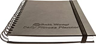 SaltWrap Daily Fitness Planner, Gym Workout Log and Food...
