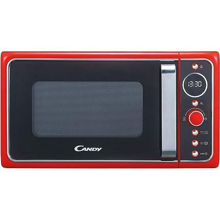 Candy Divo G20CMB, Micro-ondes avec grill 20 l, 1200 W, 9 programmes, express cooking, minuteur, affichage numérique circulaire, 6 niveaux de puissance, noir
