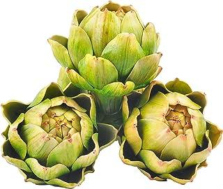 green artichokes botanical decoupage tray wall hanging home decor kitchen art decorative plate artichoke artichoke art