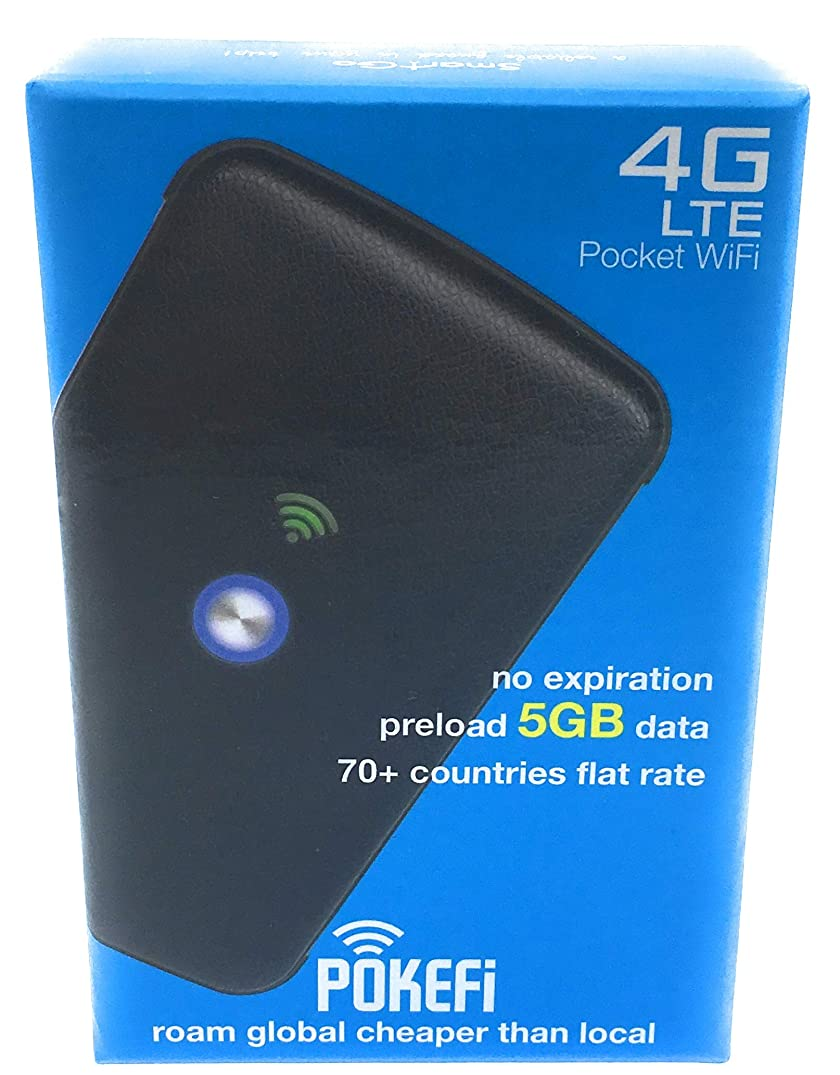 Pokefi 4G LTE Pocket WiFi Hotspot Device