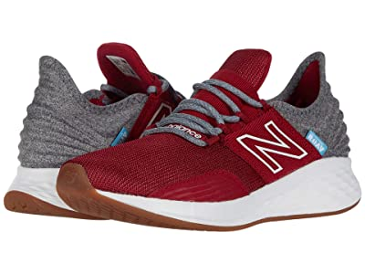 New Balance Kids Fresh Foam Roav (Big Kid) (Neo Crimson/Light Aluminum) Boys Shoes