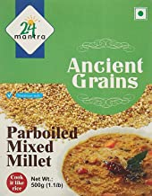 Parboiled Mixed Millet - 500 Gms - 2 Pack - 24 Mantra