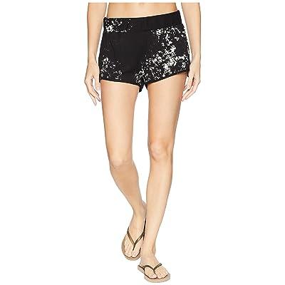 Hurley Washed Beach Shorts (Black) Women