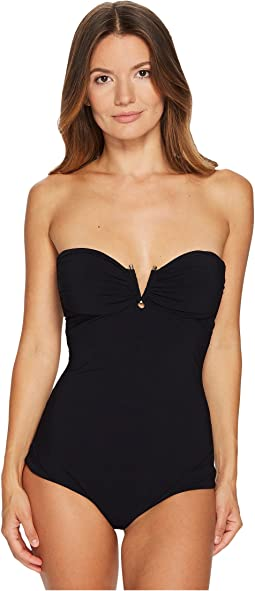 Versace - Intero Strapless Maillot One-Piece