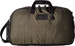 John Varvatos Star U.S.A. - Quilted Nylon Duffel w/ Shoe Pack