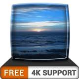 無料の夕日の海岸HD-HDR 4K TV、8K TVの美しい風景を壁紙として、クリスマス休暇の装飾、調停と平和のテーマとしてお楽しみください