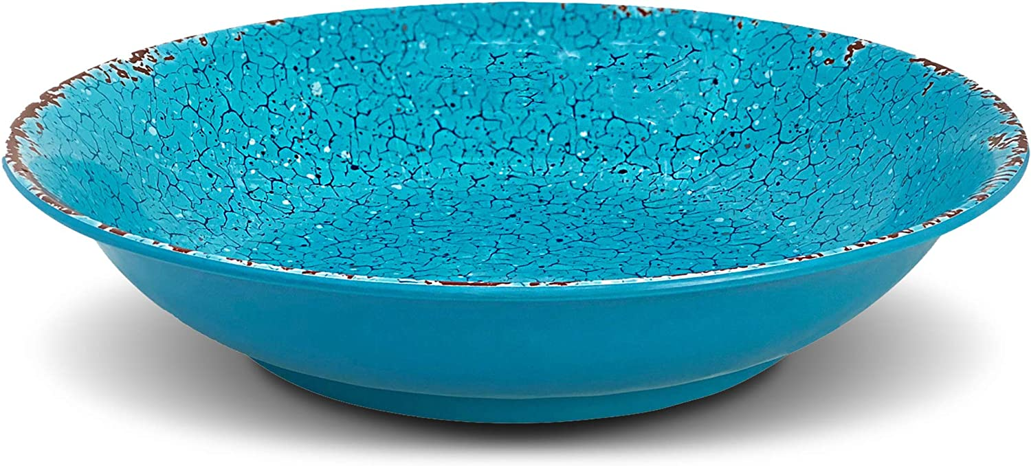 Exultimate Melamine Vintage Bowl Distressed as Limited time trial price Perfect Serv OFFicial store