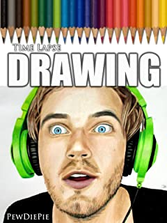 Clip: Time Lapse Drawing of PewDiePie
