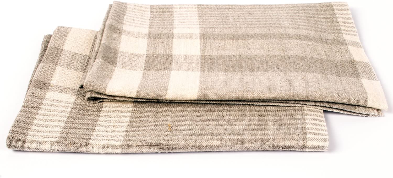 LinenMe Antico High quality new Quatro X2 Ranking TOP6 Tea Towels Natura 18 26-Inch by Cream