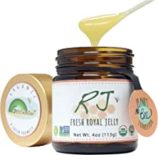 GREENBOW Organic Fresh Royal Jelly - 100% USDA Certified Organic, Pure, Gluten Free, Non-GMO Royal Jelly - One of The Most...