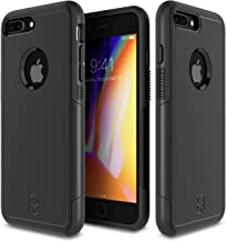 Patchworks Level Aegis Case in Black Compatible for iPhone 8/7 Plus Military Grade Extreme Drop Protection Shockproof Full...