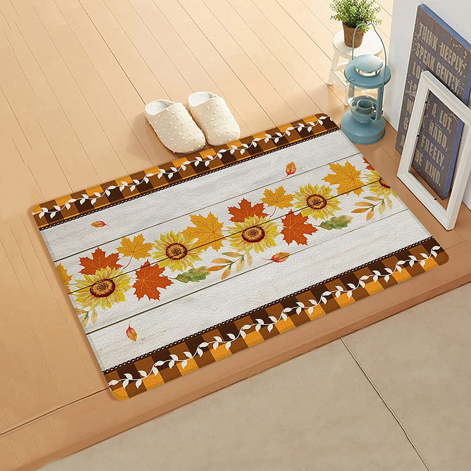 Ranking TOP20 InvisibleWings Kitchen Mat Cushioned Tha Comfort Max 51% OFF Happy Floor