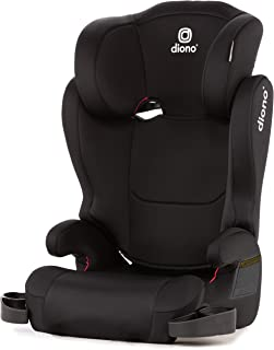 Diono Cambria 2 Latch Booster Seat with 2-in-1 XL Belt Positioning for Comfort, Space and Room to Grow, Black