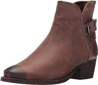 Walking Cradles Women's Gaston Ankle Boot, Brown Distressed, 8.5 XW US