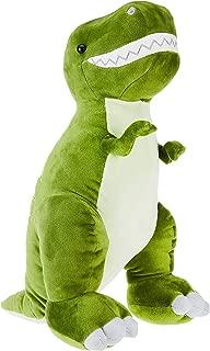 green t-rex stuffed animal