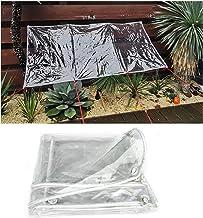 LIANGJUN Heavy Duty Transparant PVC Dekzeil, Balkon Windows Winddicht Waterdicht Tarp, Tuinluifel Anti-veroudering, Dikte ...