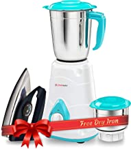 LONGWAY 650W Mixer Grinder, Ivory, Off White