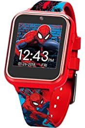 Boys' Touch-Screen Watch with Silicone Strap, red, 19.5...