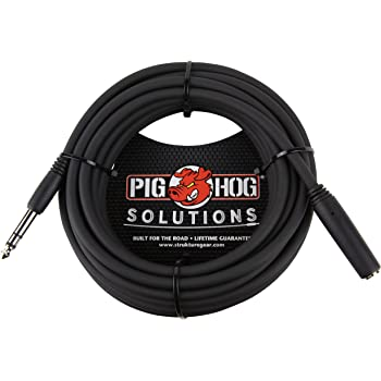 25 foot Hosa MHE125 1//8 Inch Headphone Extention Cable
