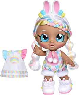 Kindi Kids Dress Up Friends - 10 inch Doll with 2 Outfits - Marsha Mello Bunny