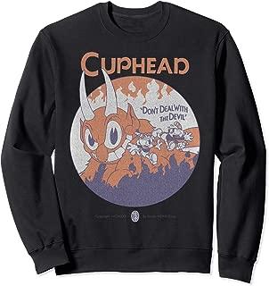 Cuphead Don't Deal With The Devil Portrait Sweatshirt