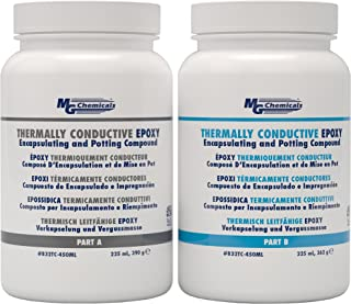 MG Chemicals Thermally Conductive Epoxy Encapsulating and Potting Compound, 15 oz Kit, Black