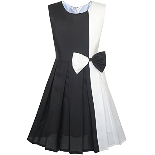 Black And White Dresses For Girls Amazon