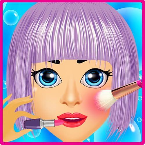 süßes Mädchen Makeover: Mode Make-up Spa-Salon