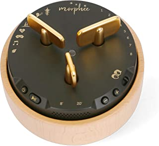 Morphee - Meditation and Relaxation Box - Sophrology and Sleep Aid Device - Ideal Against Insomnia and Sleep Disorders - Gift for Women and Men - in English, French, Spanish and Italian Wood