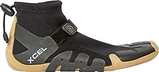 Xcel Infiniti Split Toe Reef Boots, Black/Gum, Size 11/1mm
