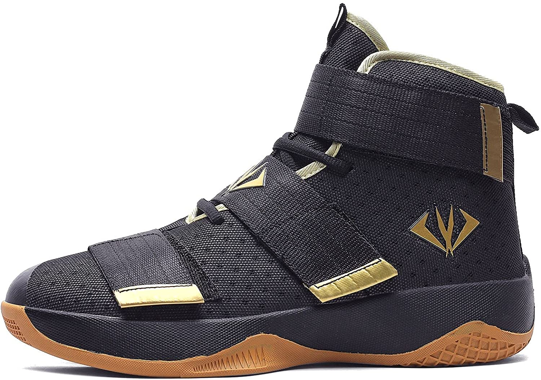 VV87 Unisex Fashion High Top Basketball Running Sneakers Velcro Philadelphia Mall Direct stock discount
