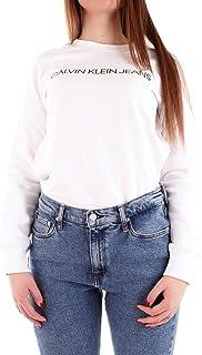 CALVIN KLEIN Jeans Women's Institutional Logo Regular Crew Neck Sweat