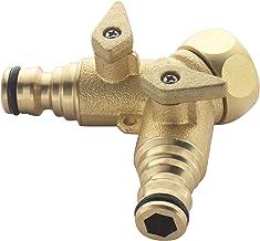 Speer en Jackson BWF14 2-weg messing kraan connector, brons, 3/4-inch