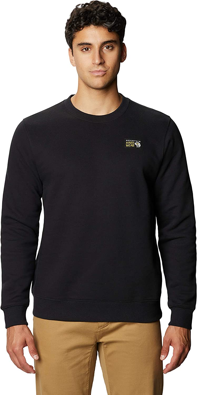 Complete Free Shipping online shopping Mountain Hardwear Men's Classic MHW Neck Crew Sweatshirt Logo