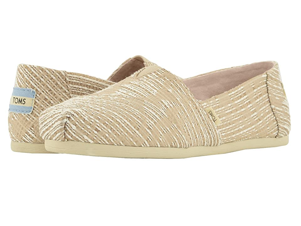 TOMS Alpargata (Oxford Tan Abstract Jaquard (Vegan)) Women