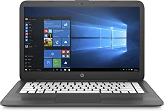 HP Stream 14-inch Laptop, Intel Celeron N4000 Processor, 4 GB RAM, 64 GB eMMC, Windows 10 S with Office 365 Personal for One Year (14-cb190nr, Gray)