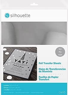 Best silhouette foil transfer sheets Reviews