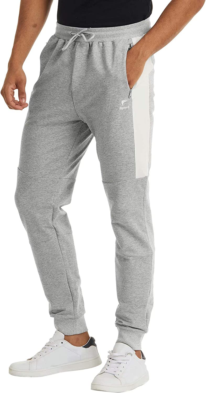 MAGCOMSEN OFFicial site Men's Tapered Color Selling rankings Block Workout Gym Pants Swe Jogger