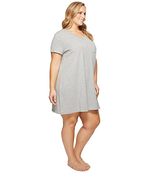 Grey Nautica Size Plus Heather Sleepshirt I17RZwqp