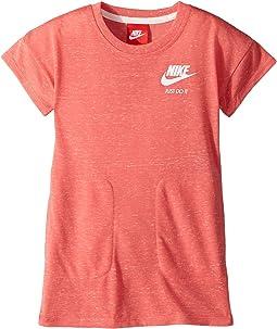 Nike Kids Gym Vintage Short Sleeve Dress (Toddler)