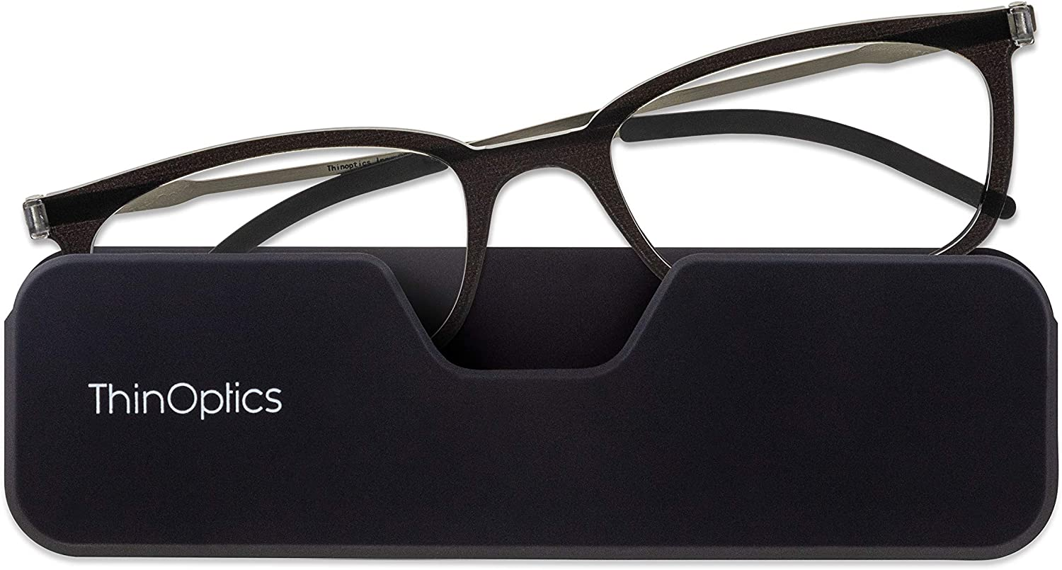 ThinOptics 55% OFF FrontPage ! Super beauty product restock quality top! Connect Rectangular Glasses Black Reading
